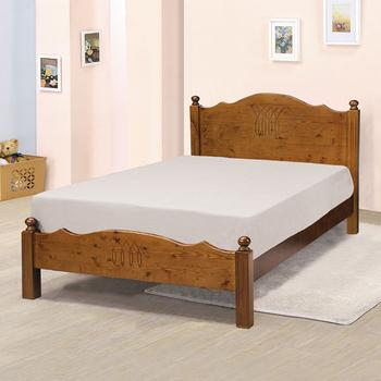 《Homelike》桑妮床架組-單人3.5尺(不含床墊)(淺胡桃色)
