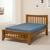 《Homelike》里恩床架組-單人3.5尺(不含床墊)(淺胡桃色)