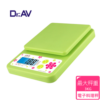★結帳現折★Dr.AV 專業級超耐用 電子秤(KS-2316)
