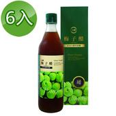 《台糖》梅子醋600ml(6瓶/組)