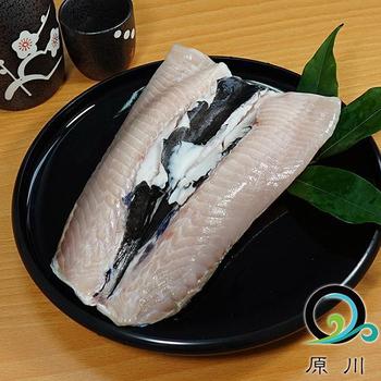 原川 生態養殖無刺虱目魚肚3包(195g/包)