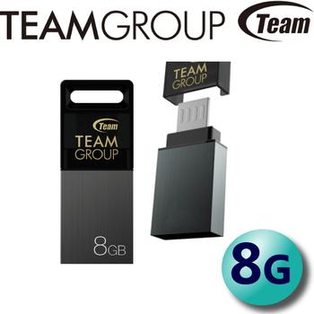 Team 十銓 M151 USB2.0 microUSB-USB OTG 隨身碟 8G