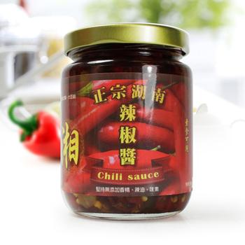 【那魯灣】 湖南辣椒醬(2罐 (240克/罐))