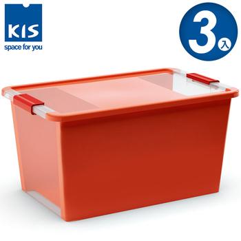 ★結帳現折★義大利KIS創意收納 BI BOX單開收納箱(L) *3入(橘色)