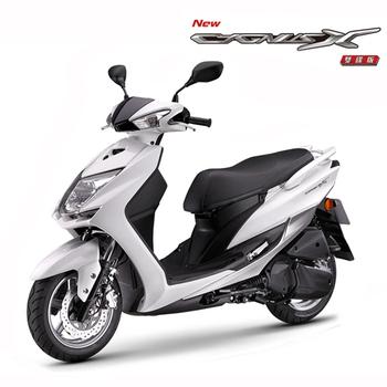 YAMAHA山葉 新勁戰Cyguns 125 四代雙碟版(質感風)-2016年新車(珍珠白)