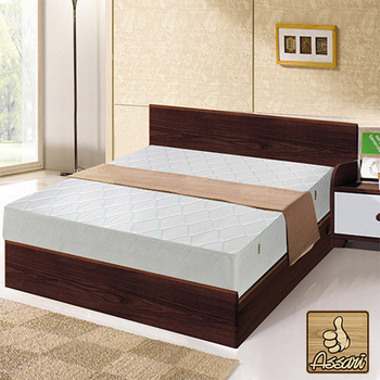 ASSARI 簡約二線獨立筒床墊3.5X6.2尺(單人加大)(單人加大)