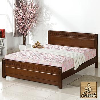 ★結帳現折★ASSARI 天然椰絲護脊硬式彈簧床墊3X6.2尺(雙人加大)(雙人加大6尺)