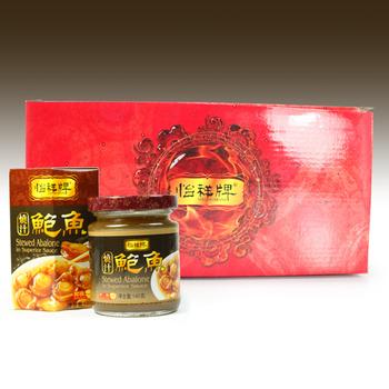 《【幸福小胖】》怡祥牌燒汁鮑魚禮盒(1盒(3罐/盒))