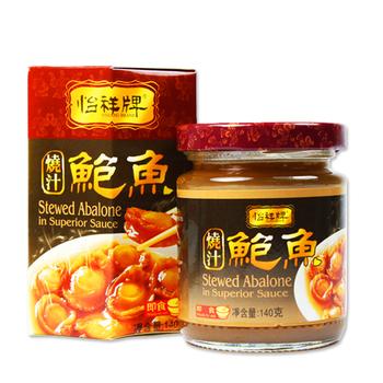 【幸福小胖】 怡祥牌燒汁鮑魚(2罐(140克/罐))
