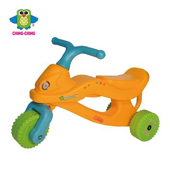親親 機械勇士三輪車(橘色)