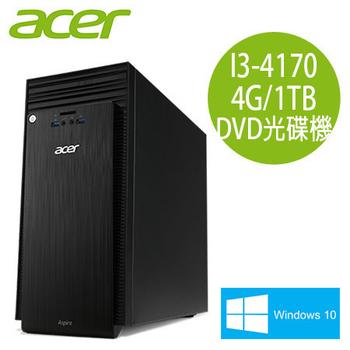 Acer宏碁 TC-705 Intel i3-4170雙核 4G記憶體 Win10電腦 (TC-705EE023)