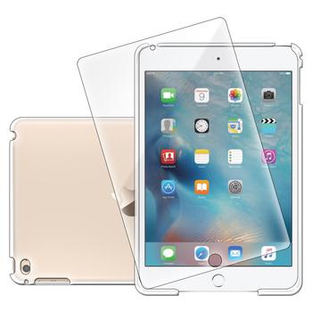 g-IDEA Apple iPad Mini4 透明水晶保護硬殼(贈保護貼)(保護殼)