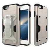 《Phonefoam》iPhone6/6s 4.7吋腰夾式插卡吸震保護殼(金)