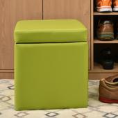 《佳嘉家》吉尼爾收納椅/儲藏椅/玄關椅/掀蓋椅-5色可選(綠色)