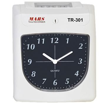 MARS TR-301 六欄位微電腦智慧型雙色打卡鐘