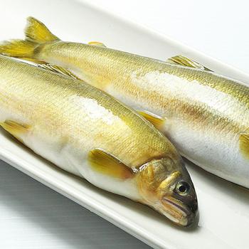 《那魯灣》宜蘭特選香魚 (10尾/1公斤/盒)(1盒)