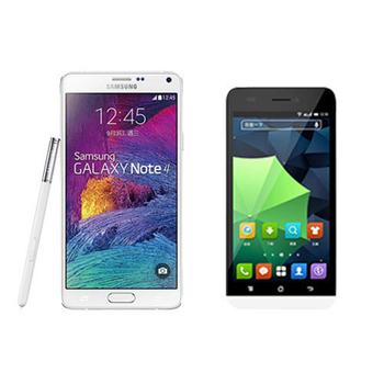 促銷組合品 Samsung Note 4 32G WIFI平板 (N910X) + K-Touch Touch 3 4G LTE手機(1組)