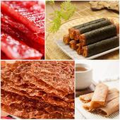 《喜福田》海陸雙拼雙重享受(肉乾/肉紙/肉鬆) ,口味任選(6盒/組)