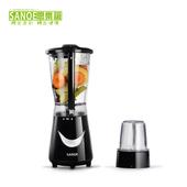《思樂誼SANOE》生機健康果汁機(附研磨杯)-B22(黑色)