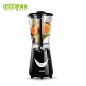 《思樂誼SANOE》生機健康果汁機-B21(黑色)