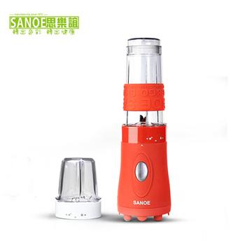 《思樂誼SANOE》隨行杯果汁機(附研磨杯)-B102(紅色)