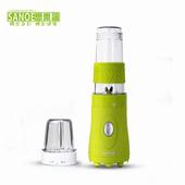 《思樂誼SANOE》隨行杯果汁機(附研磨杯)-B102(綠色)