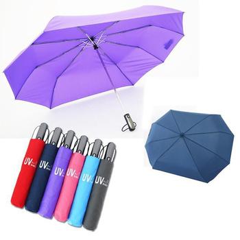 Babytiger虎兒寶 防撥水 抗 UV 自動收合超完美親子雙人傘(粉紅色)