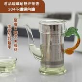 《ENNE》茗品琉璃耐熱沖茶壺 - 不銹鋼內膽 250ml