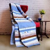 《Indian》純棉蠶絲涼被-都市風(150*180cm)