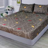 防瞞單人二件床包組-拼圖