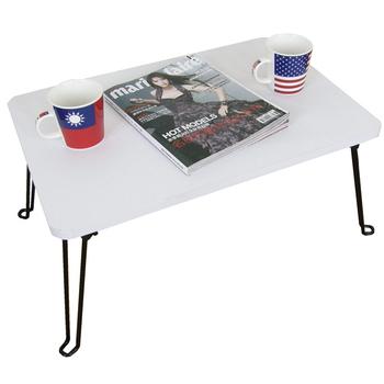 頂堅 深40x寬60/公分-戶內外-折疊桌/摺疊桌/休閒桌(二色可選)-1入/組(素雅白色)