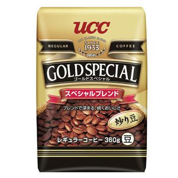 ★結帳現折★UCC 金質精選綜合咖啡豆360g*6入