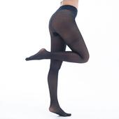 《【KEROPPA】可諾帕》台灣製時尚亮透褲襪-黑*兩雙-C62006-1(M~L 適合穿著)