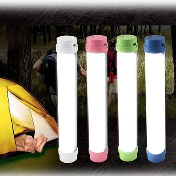 鋁質手持式磁吸露營燈 充電式 5段燈光變化(白色)