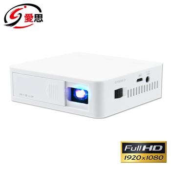 IS愛思 150吋名片微型投影機1080P(800Lumen)