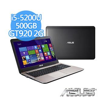 ASUS X555LJ-0121B5200U 灰 I5-5200U/4G/500GB/NV920 2G/15.6/W10(灰)