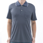 《【SAIN SOU】》台灣製吸濕排汗速乾短袖POLO衫T26536-15(S)