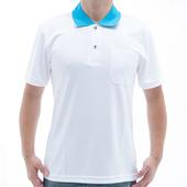 《【SAIN SOU】》台灣製吸濕排汗速乾短袖POLO衫T26536-14(S)