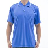 《【SAIN SOU】》台灣製吸濕排汗速乾短袖POLO衫T26536-11(S)