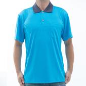 《【SAIN SOU】》台灣製吸濕排汗速乾短袖POLO衫T26536-06(M)