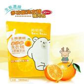 《邦尼熊》多功能生態濃縮橘油洗衣精10件組