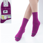《【KEROPPA】可諾帕》舒適透氣減臭短襪x紫紅兩雙(男女適用)C98006(20~24CM(公分))