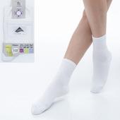 《【KEROPPA】可諾帕》舒適透氣減臭短襪x白色兩雙(男女適用)C98006(20~24CM(公分))