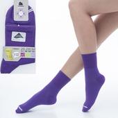 《【KEROPPA】可諾帕》舒適透氣減臭加大短襪x紫色兩雙(男女適用)C98006-X(25~28CM(公分))