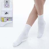 《【KEROPPA】可諾帕》舒適透氣減臭加大短襪x白色兩雙(男女適用)C98006-X(25~28CM(公分))