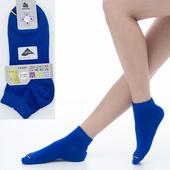 《【KEROPPA】可諾帕》舒適透氣減臭超短襪x寶藍色兩雙(男女適用)C98005(20~24CM(公分))