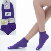 《【KEROPPA】可諾帕》舒適透氣減臭超短襪x紫色兩雙(男女適用)C98005(20~24CM(公分))