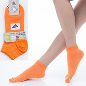 《【KEROPPA】可諾帕》舒適透氣減臭超短襪x桔紅色兩雙(男女適用)C98005(20~24CM(公分))