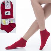 《【KEROPPA】可諾帕》舒適透氣減臭超短襪x紅色兩雙(男女適用)C98005(20~24CM(公分))