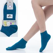 《【KEROPPA】可諾帕》舒適透氣減臭超短襪x土耳其藍兩雙(男女適用)C98005(20~24CM(公分))